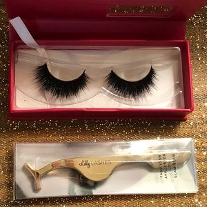 🌹LILLY Mink Lashes and False Lash Applicator Tool